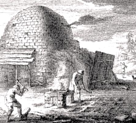 Der Teerbrenner von Johann Wilhelm Meil (1733-1805)